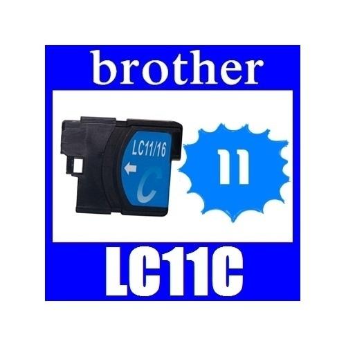 ★リニューアル値下げしました!★即日発送/安心1年保証 ブラザー(brother) LC11シリーズ 【単品】LC11C(シアン) 新品互換インクカートリッジ 関連商品:LC11BK LC11M L