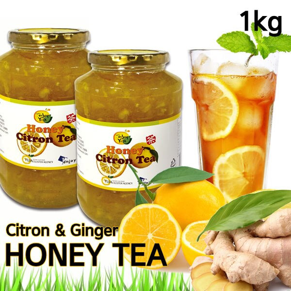 In Singpore★1+1 Korean Honey Citron Tea★1kg Big Size/Korean Food/Korean Drink/Korean Tea