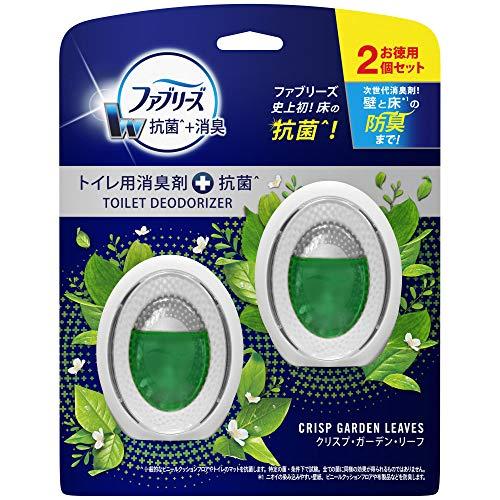ファブリーズ 消臭芳香剤抗菌 トイレ用 クリスプ・ガーデン・リーフ 6mL2個6mL x 2個