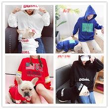 ペットの親子は2018秋と冬の新しいペットのセーターの犬の服を着るペット用服/ペット用品/ 犬洋服/犬服/ペット服/いペットの服/犬の服/犬 洋服/ペット 服/犬 服
