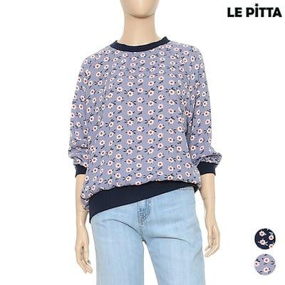 ルピタフラワーパターンティーシャツL172CTS460 プリント/キャラクターシャツ / 韓国ファッション