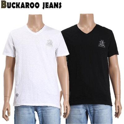 [AK公式ストア]【buckaroo jean]ユニ講演SLUB出來VネックTシャツ(B192Z1105P)