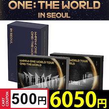 WANNA ONE WORLD TOUR ONE: THE WORLD IN SEOUL DVDKHINOBLUERAY