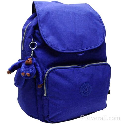 キプリング KIPLING City Pack L B リュックサック バックパック インクブルー ナイロン k18735-h70 【Luxury Brand Selection】