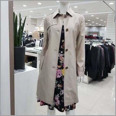 トレンチコートJA8S3-WCH600-1 /トレンチコート/コート/韓国ファッション