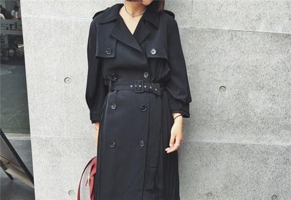コートレディース トレンチコート ロングコート 薄手 指輪リング ファッション 着心地よい 春新作 通勤 きれいめ春コート レディースコート