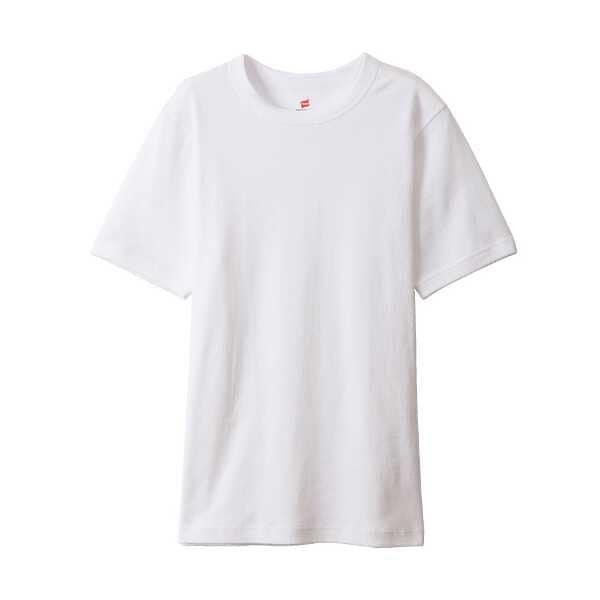 【送料無料】 BEEFY-T ビーフィーリブTシャツ [サイズ:M] [カラー:ホワイト] #HM1-R103-010 【ヘインズ: スポーツ・アウトドア その他雑貨】