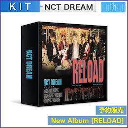 【日本国内発送】【KIT Ver】【初回ポスター・MV】NCT DREAM  [Reload] 韓国音楽チャート反映 和訳付 1次予約