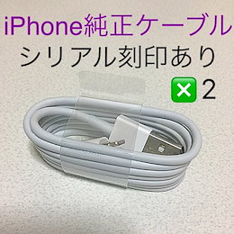Apple 純正ケーブル 2本セット