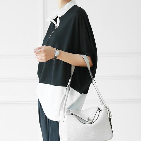 マダムグレースマダムグレースK3202丁デンス配色ニット ニット/セーター/ニット/韓国ファッション