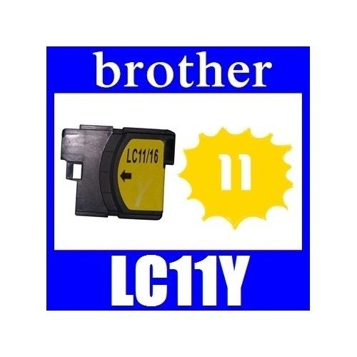 ★リニューアル値下げしました!★即日発送/安心1年保証 ブラザー(brother) LC11シリーズ 【単品】LC11Y(イエロー) 新品互換インクカートリッジ 関連商品:LC11BK LC11C