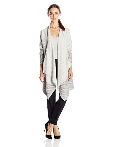 Lucky Brand Womens Waterfall Cardigan, Natural Multi, X-Small