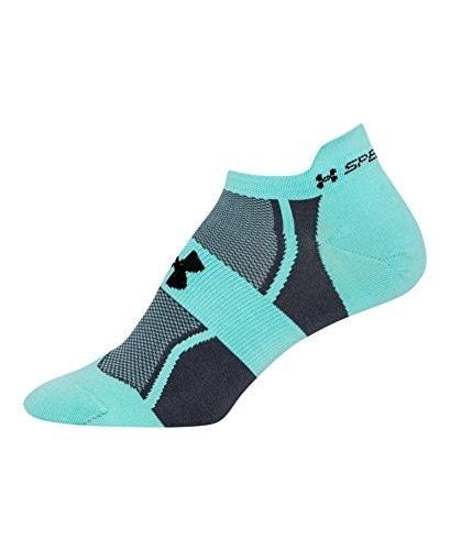 Under Armour Womens UA SpeedForm® No-Show Socks Medium CRYSTAL