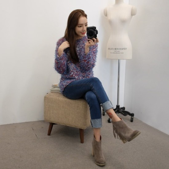 ホワイト・フォックスwhitefoxより柔らかい女ニット ニット/セーター/ニット/韓国ファッション