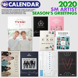 【即日発送】【 SM ARTIST 2020年 公式カレンダー 】 TVXQ SJ SHINee EXO NCT127 NCTDREAM WayV