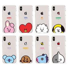 BT21 本物 iPhone case(透明ゼリーケース/ゼリーケース/携帯電話ケース/BTS)