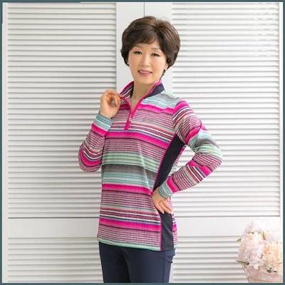[マダム4060]ママの服アロンがダロンがティーシャツ-XTE903045- /トップ/ノースリーブTシャツ/ 韓国ファッション