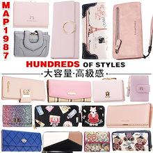 2018新作入荷☆財布 レディース財布 女の子 韓国ファッション  マルチカラー 長財布 多機能 大容量 プレゼント 可愛い