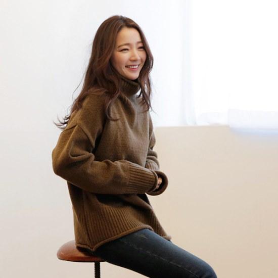 ビナイン、ハブ・ニット ニット/セーター/タートルネック/ポーラーニット/韓国ファッション