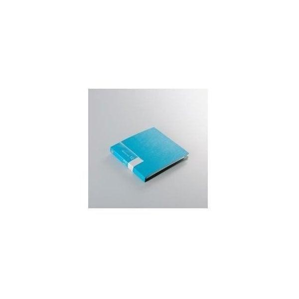 バッファロー BSCD01F12BL CD DVDファイル ブックタイプ 12枚収納 ブルー