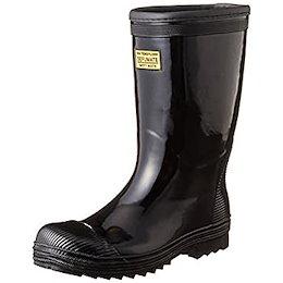 [フジテブクロ] 安全長靴 軽半型 セーフティブーツ ゴム製 992 メンズ