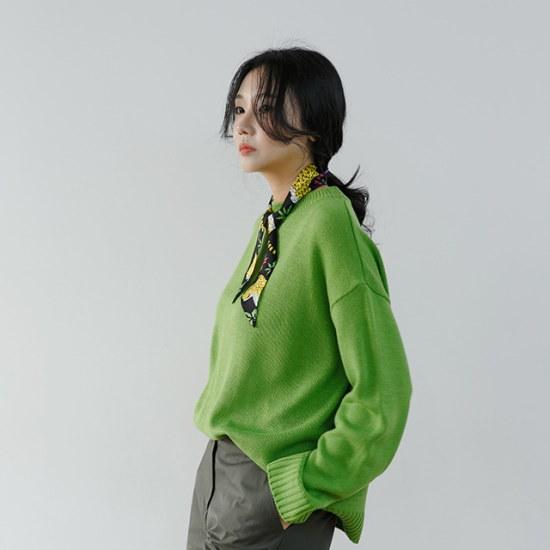 ディエイス・ナッツラウンドニット ニット/セーター/ニット/韓国ファッション