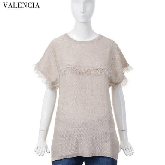 バレンシア女性衣類手術ポイントニットブラウスV61MK67 ニット/セーター/韓国ファッション