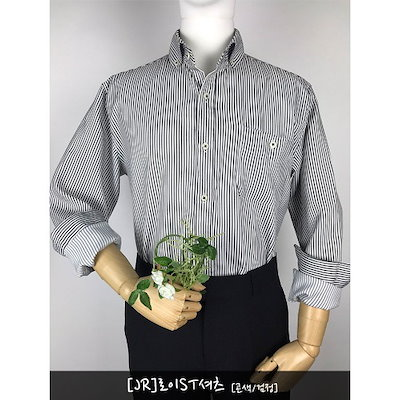 [AK公式ストア]【BRICKLANE] BRICKLANE [JR]ロイストライプシャツ紺黒