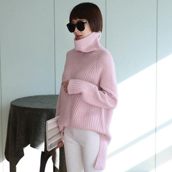 シーフォックスアルレクサンドクィンknitニート ニット/セーター/タートルネック/ポーラーニット/韓国ファッション