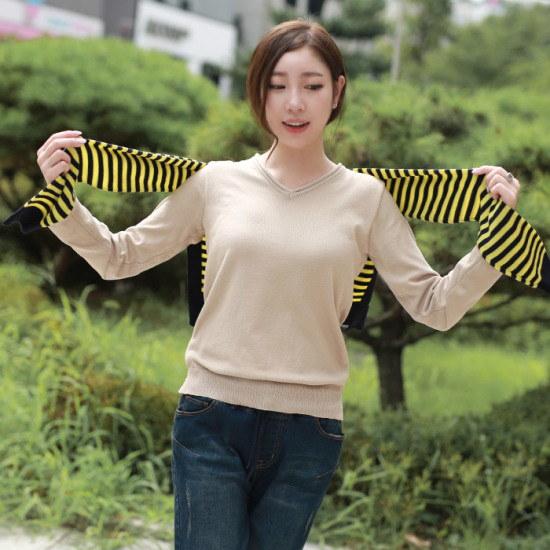 マンゴーの心】シンディソフト・ニットGKN001 ニット/セーター/ニット/韓国ファッション