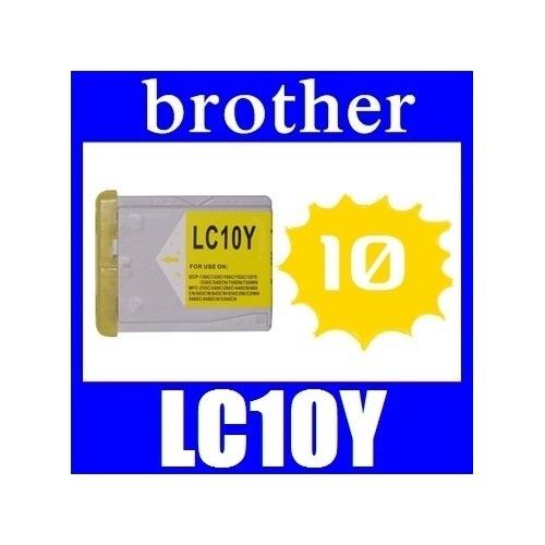 <あすつく対応>Brother(ブラザー) LC10Y イエロー 互換品インクカートリッジ