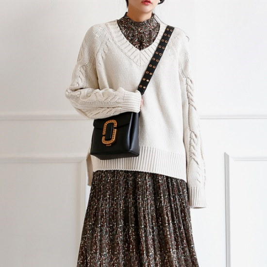 イニクのジョエル・V KNITニート ニット/セーター/ニット/韓国ファッション