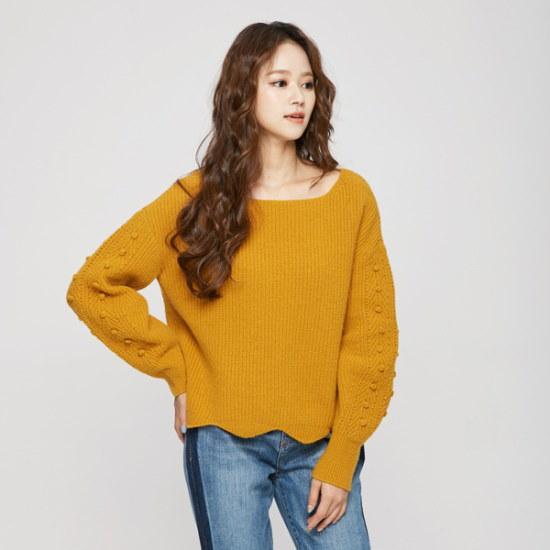 のエゴイスト八十組織ミックスニットEH4KL968 ニット/セーター/韓国ファッション