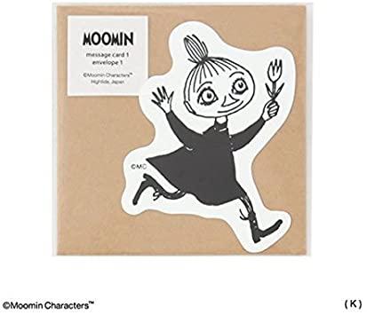 MOOMIN ムーミン メッセージカード (K)ミムラねえさん [MM017]