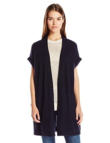Vince Womens Sweater Vest, Coastal, Large
