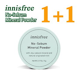[innisfree]No-Sebum Mineral Powder 5g[1+1]