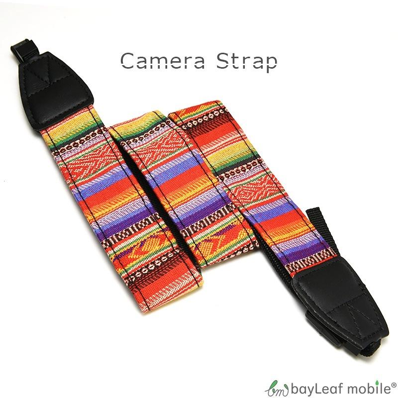 カメラストラップ 一眼レフ ミラーレス カメラ Canon Nikon Sony olympus カラフル おしゃれ カジュアル ユニセックス