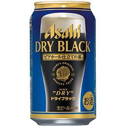 """【送料無料】アサヒ スーパードライ""""ブラック"""" 350ML × 24缶 ビール"""
