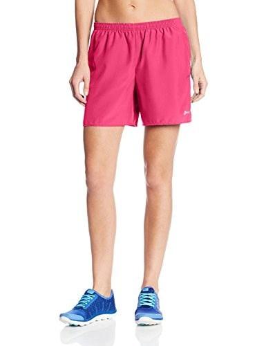 Asics Womens 5-Inch Core Pocketed Shorts, Magenta, Large