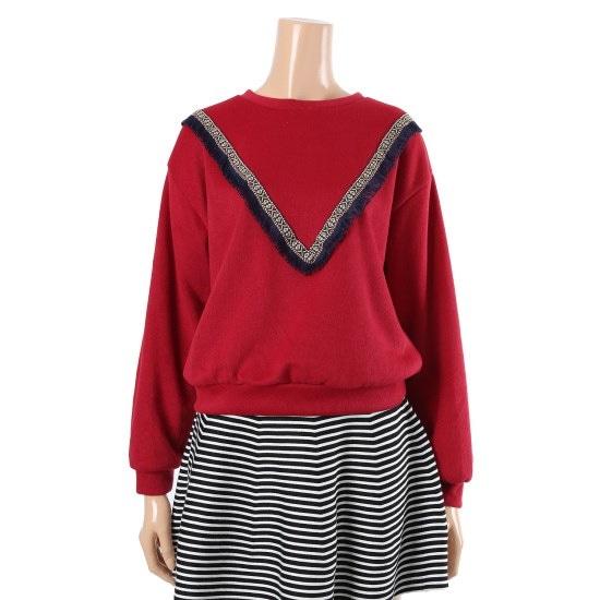 パパイヤラウンドブイティーシャツCNGRTP028D ニット/セーター/韓国ファッション