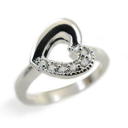 『広告の品 』売り切ります ピンキーリング リング 指輪 レディース シンプル きらきら パーティーや結婚式 プレゼント 3号 5号 9号 11号 13号【あす楽】アクセONE おしゃれ レディースジ