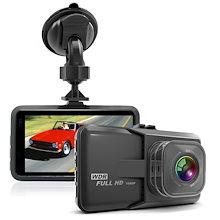 ドライブレコーダー 車載カメラ ビデオカメラ 1080PフルHD 100万画素 3インチ 120°広角 Gセンサー搭載 常時録画
