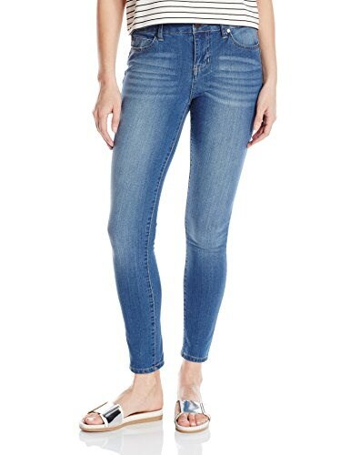Liverpool Jeans Company Womens Piper Hugger Contour 4-Way Stretch Denim Ankle Jean, Hydra Stone Blue, 12
