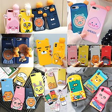 KAKAO FRIENDS collection 韓国カカオフレンズ iphone7ケース iphone6 ケース iphone8ケース iphoneXケース iphone8 plusケース 5/SE