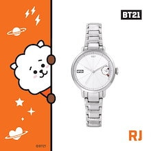 BTS (防彈少年團) BT21 x O.S.T Collaboration Official Goods : BT21 Simple Metal Watch