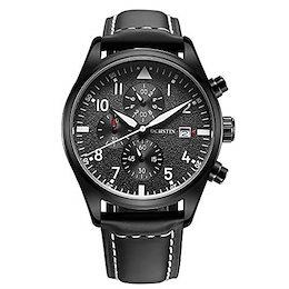 dac53f1a56 COUPON · 腕時計、メンズ腕時計、メンズ多機能時計、本物の革の豪華な