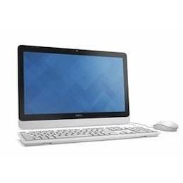 DELL Inspiron 20 3000 AI25T-6WHBW 新品同様 19.5インチ/Pentium J3710/容量1TB/メモリ4GB/DVDスーパーマルチドライブ/Officeなし ホワ