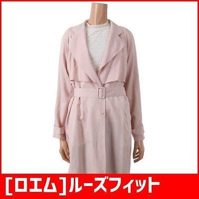 [ロエム]ルーズフィットスタイリッシュ、トレンチコート(RMJH623R21) /トレンチコート/コート/韓国ファッション