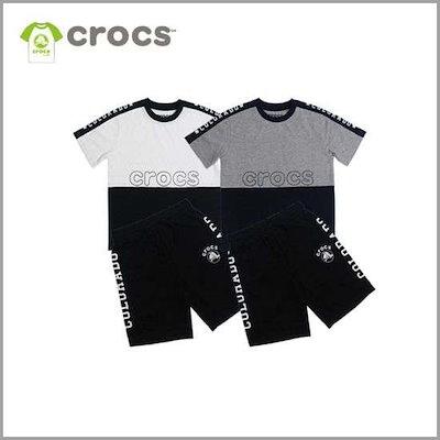[クロクス][クロクス・キッズ]モムパた配色5部トレーニングセット(CBI2TT433S) /トレーニング下/ スウェットパンツ/韓国ファッション
