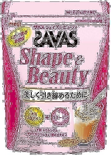 ザバス シェイプ&ビューティ ミルクティー風味 210g (約15食分)